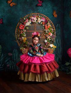 Frida para Vogue.